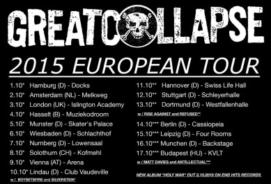 great collapse tour