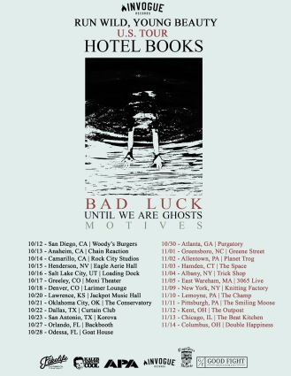 hotelbooks tour flyer