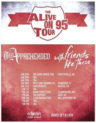 Alive On 95 Tour Flyer