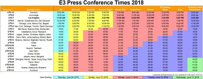 e3-2018-press-conference-schedule